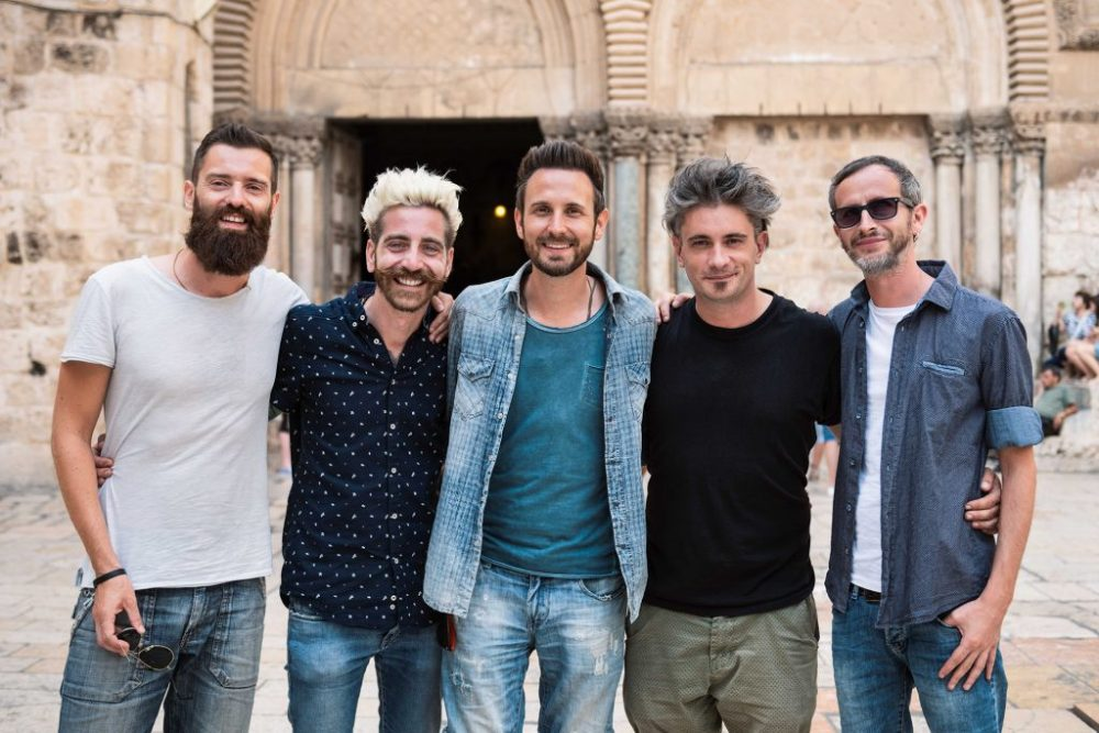 the sun rock band pellegrinaggio terra santa
