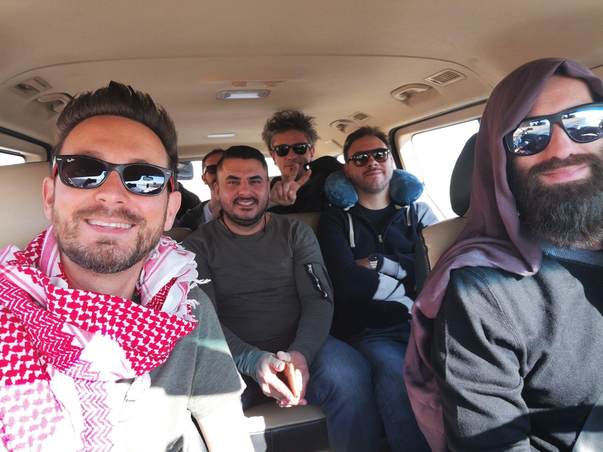 the sun rock band una musica di speranza giordania