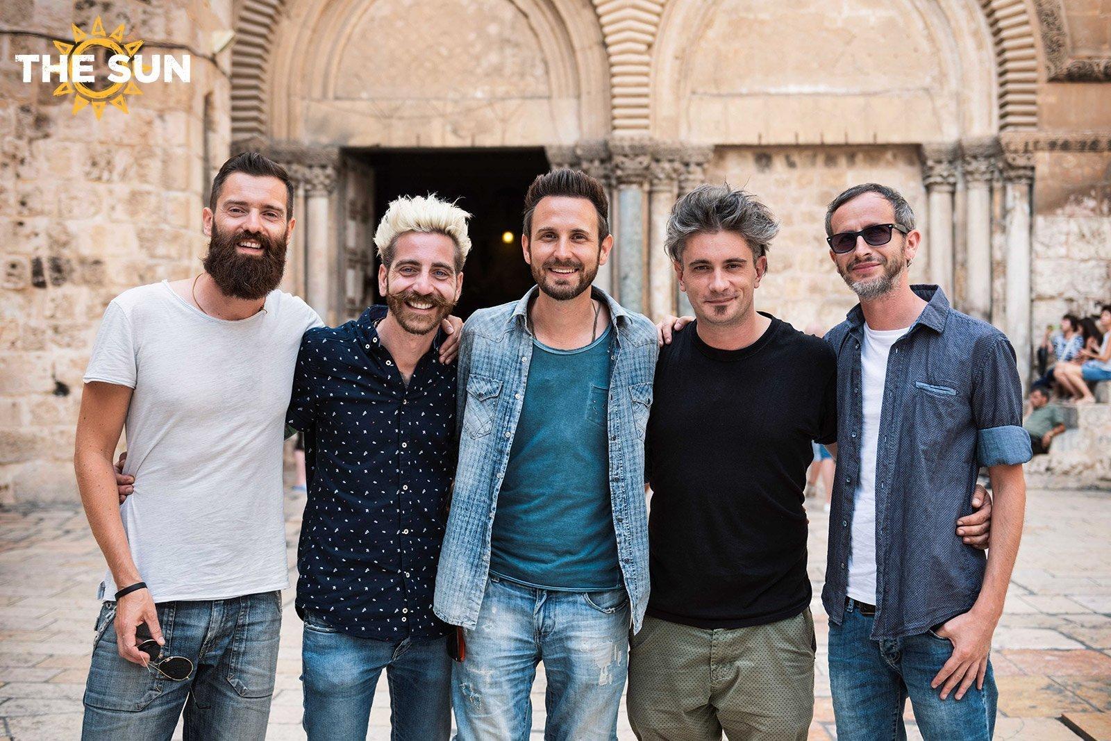 the sun rock band santo sepolcro terra santa