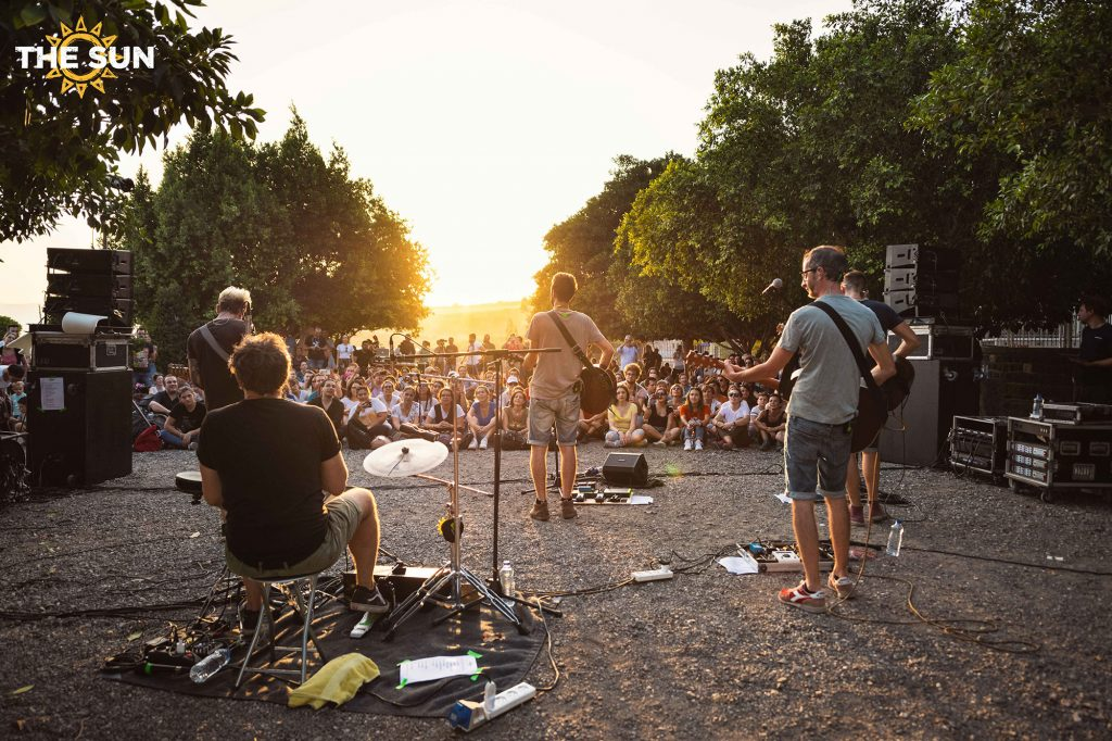 the sun rock band live cafarnao terra santa