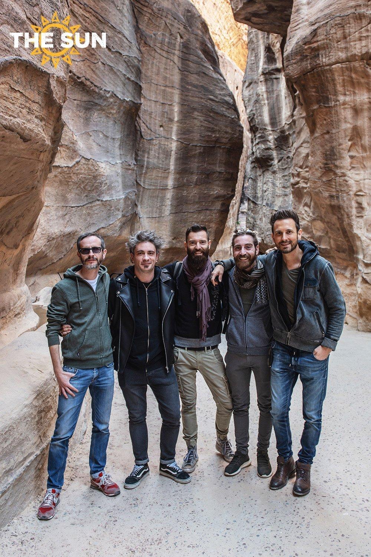 the sun rock band giordania petra
