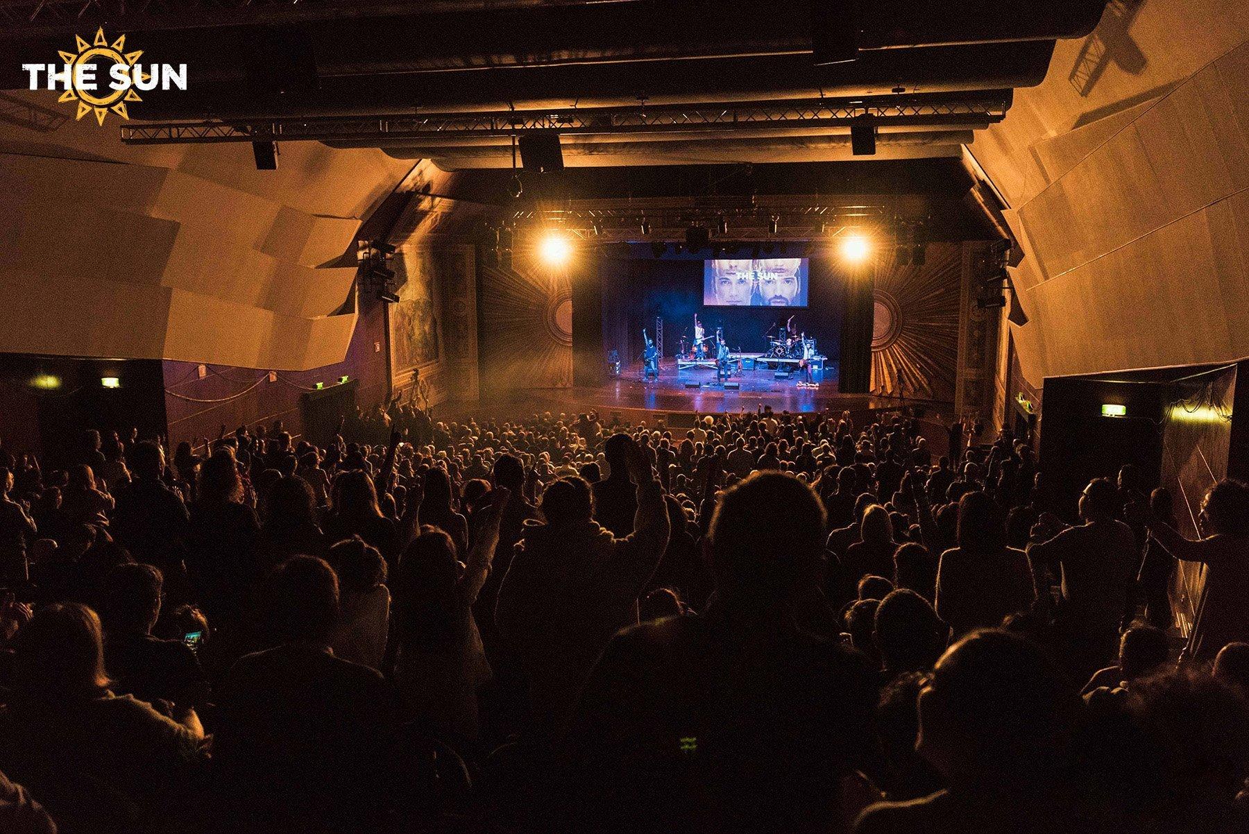 the sun rock band live assisi teatro lyric