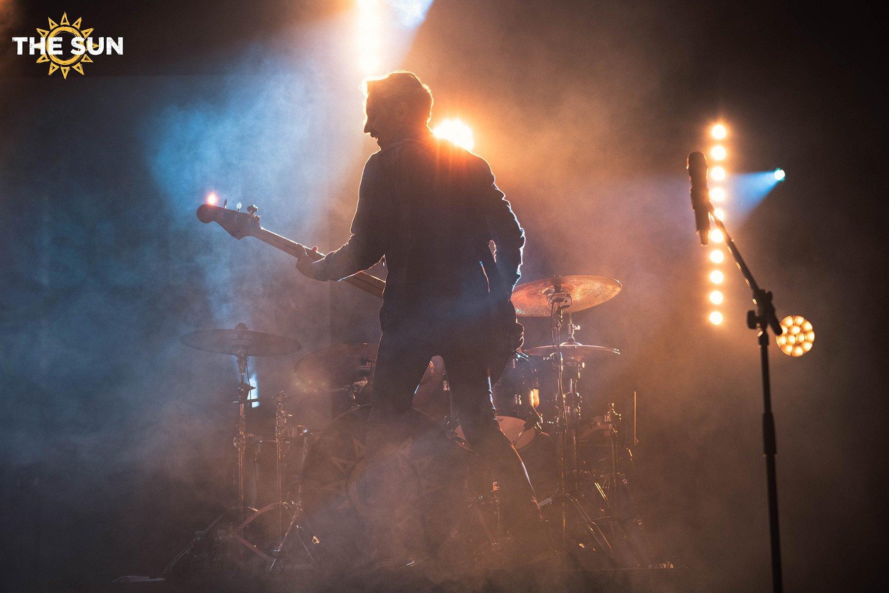 the sun rock band live cascia