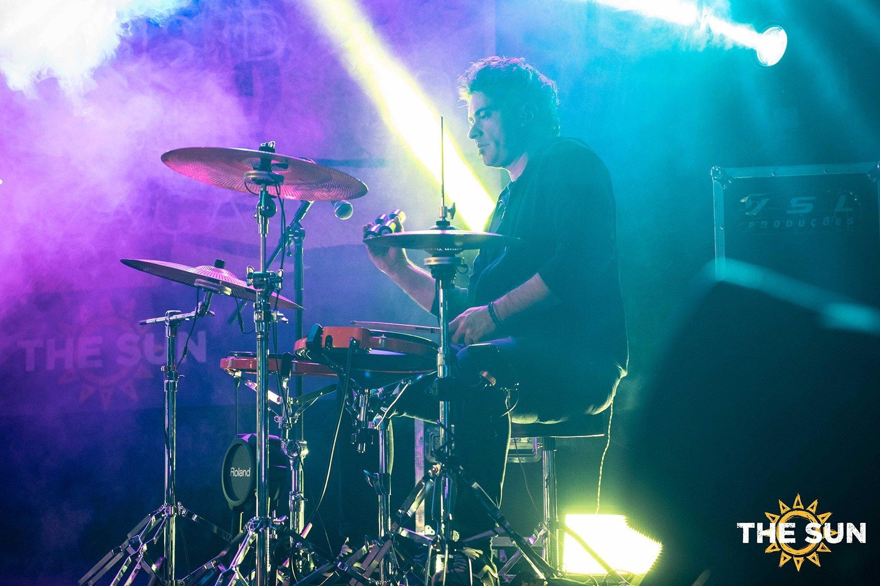 the sun rock band live riccardo rossi